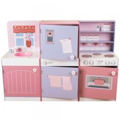 Candy Floss All in One Kitchen, I would have loved a pink kitchen when I was little