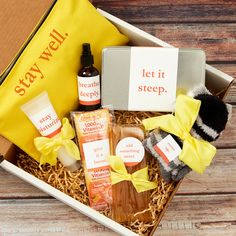 Use Avery labels and our free online design tool to personalize any gift! Get Well Soon Gifts, Client Gifts, Printable Designs, Tool Design, Gift Baskets, Personalized Gifts, Unique Gifts, Templates, Sweet