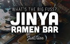JINYA Ramen Bar Tulsa OK. Tulsa Oklahoma Restaurants. Places to eat in Tulsa Oklahoma.