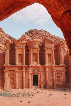 Finding The Monastery Up In The Mountains In Petra, Jordan - Hand Luggage Only - Travel, Food & Photography Blog