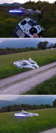 Millennium Falcon MK.II Drone Gets Upgraded, is Perfect for Day and Night Missions