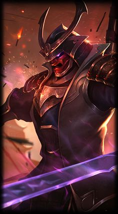 League of Legends- Warlord shen