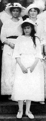 Maria, Olga and Anastasia