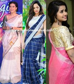 Style and Accessorize the Linen Sarees: the new look | Fashionworldhub