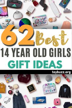 """See the best 14 year old girl gifts for teen girls. Discover COOL and unique gift ideas for Birthdays, Christmas, and other occasions for your 14 year old teen daughter. These EPIC Birthday and Christmas Gifts will have her smiling from ear to ear and ecstatically saying, """"OMG, how did you know what I want?"""" Shhh ... your secret is safe with us! Christmas Gifts For Teen Girls, Best Gifts For Girls, Gifts For Teens, Best Birthday Gifts, Birthday Gifts For Women, Creative Gifts, Unique Gifts, 14 Year Old Girl, Old And Teen"""