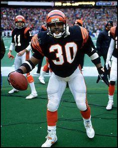 No. 30: Ickey Woods RB 1988-1991 Cincinnati Bengals