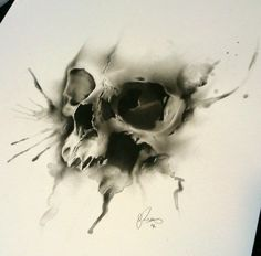 Glen Preece Tattoo Skull - This guy is awesome!
