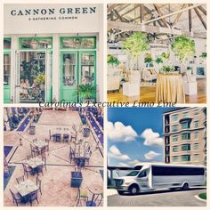 Charleston Wedding Transportation to Cannon Green Downtown CHS. Limousine & Shuttle Service by Carolina's Executive Limo Line. 843.564.3456 http://www.celimoline.com/charleston-wedding-transportation