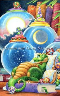 Celestial Dreams [SPANGLER139530] - $14.25 : Heaven And Earth Designs, cross stitch,