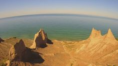 Travel | New York | Chimney Bluffs | State Parks | Great Lakes | Hiking