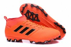 on sale d3844 292af 2018 FIFA World Cup Mens Adidas ACE 17 3 AG BY2195 Football Boots Solar  Orange Core