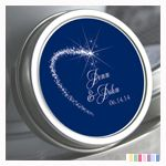 Color Coordinated Personalized Shooting Star Mint Tin: ForeverWed, Wedding Favors
