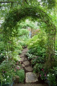 What is a secret garden? It's a little spot tucked away in the back corner of the yard. It's a place where you'll be able to retreat, to sit in the quietude of the summer evenings… #LandscapingIdeas