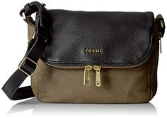 2274aec4e47e Fossil Women s Preston Small Flap Bag Cross Body Handbag