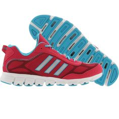 huge discount abe8f 120df Adidas Womens Clima Aerate (bright pink   metallic silver   super cyan)  G59492 -  77.99. PickYourShoes · Women