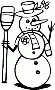 Winter Season Coloring Pages Part 2