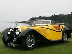 1934 VOISIN C27 CABRIOLET - coachwork by Carrosserie Figoni &Falaschi of Paris.