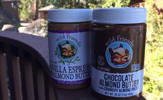 wild friends chocolate almond butter and vanilla espresso almond butter