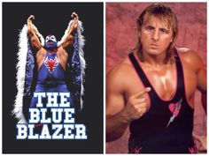 WWF Hasbro Blue Blazer by jasonwulf | WWE | Pinterest | Blue ...