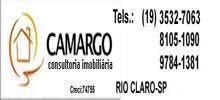 Elízio de Camargo Creci 74.755 Rua 6 n 176 - Cervezão F.19 3532-7063 / 9784-1381 RIO CLARO / SP camargo.consultoria.imob@bol.com.br