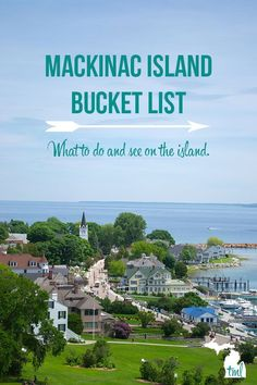 Island Bucket List for Your Summer Vacation Travel to Michigan to visit Mackinac Island and do all these things on our Mackinac Island Bucket List.Travel to Michigan to visit Mackinac Island and do all these things on our Mackinac Island Bucket List. Vacation Places, Vacation Destinations, Dream Vacations, Vacation Trips, Vacation Spots, Places To Travel, Places To Go, Vacation Ideas, Vacation Travel