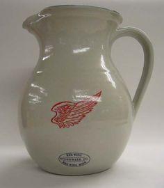 Red Wing Pottery 2qt Pitcher Antique Crocks Old Crock