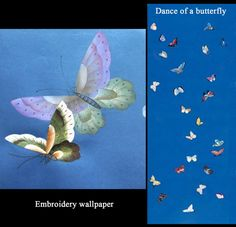 embroidery silk wallpaper,  hand-painted wallpaper @ NSR HANDCRAFTS (http://www.chinese-wallpaper.com)
