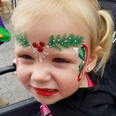 Face Paint Makeup, Makeup Art, Makeup Tips, Face Painting Designs, Body Painting, Christmas Face Painting, Elf Face, Kids Makeup, Festival Makeup