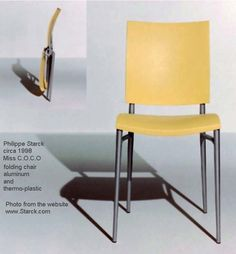 Sold out is right. Production stopped in 1998 for these iconic Philippe Starck folding chairs. They are very hard to find, but worth it.