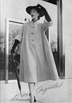 Originala coat ad, 1951