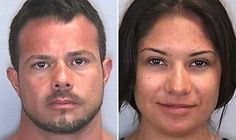 Booking photos of Jose Caballero, left, and Elissa Alvarez. Caballero and Alvarez were convicted of ... - Manatee County Sheriff's Office
