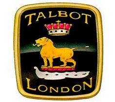 La marque automobile de voitures anglaise Talbot - Royaume Uni fut fondée en 1903, la Clément-Talbot Ltd., North Kensington, London, équipe dirigeante : Charles Chetwynd-Talbot, Adolphe Clément et Alexandre Darracq, la marque disparu en 1986.