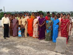 Rev. Joseph Yelchuri stands with the graduates of the Christ Gospel Churches of India Sewing Program. CGC sponsors women through a sewing program that teaches them how to sew. This gives them a valuable skill that they can use to get a job or to save money by making clothes at home (which is cheaper than buying them in stores).