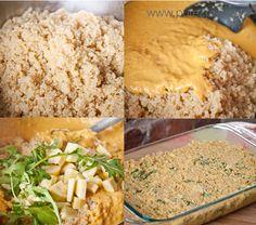 baked cheezy quinoa casserole