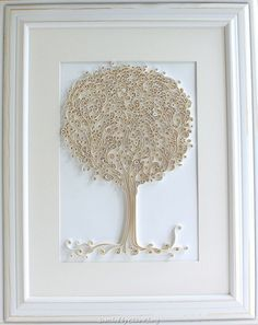 Ụnknown artist- Quilled tree 1 (Searched by Châu Khang)