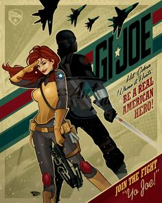 16x20 Join the Fight: GIJOE