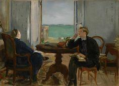 Édouard Manet - Intérieur à Arcachon