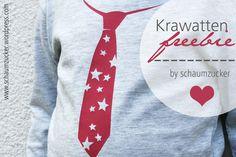 Krawatten Freebie - Plotterdatei for free von schaumzucker