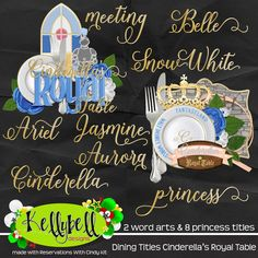 Dining Titles Cinderella's Royal Table