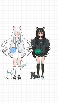 Aesthetic Wallpapers, Avatar, Twins, Lily, Cats, Anime, Outfits, Drawings, Gatos