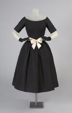 Woman's Late Afternoon Dress 1957 Designed by Gustave Tassell, American, 1926 - 2014 Philadelphia Museum of Art