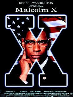 Malcolm X, this was one of, Denzel Washington best movie. This is the movie he sure had received a Academy Award for. He was outstanding as Malcolm X Best 1990s Movies, X Movies, Great Movies, Movies Online, Saddest Movies, Throwback Movies, Alex Haley, Film X, Bon Film
