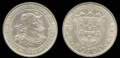 50 Escudos, prata, 1969