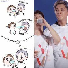 kpop kpoprp kpopedits kpopdancecover entertainment like smtown suho do chanyeol baekhyun kai sehun lay chen xiumin weareoneexo chansoo baeksoo kaisoo xiuchen sulay hunhan chanbaek Kaisoo, Chanbaek, Baekhyun, K Pop, Parejas Goals Tumblr, Exo Cartoon, Exo Anime, Exo 12, Exo Lockscreen