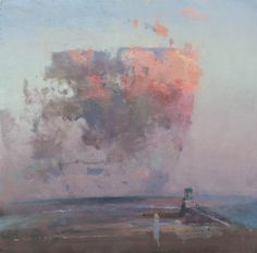 Fred Cuming RA - Rye Harbour Entry - Evening Cloud