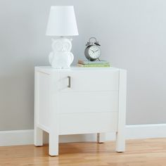 Shop Uptown Nightstand (White).  The Uptown Nightstand features clean, crisp lines for a modern look in four easy-to-coordinate finishes.