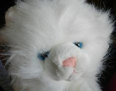 Lovely white plush cat by AA toys