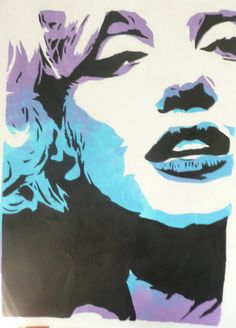Marylin by ~bingbongmonkey on deviantART || This image first pinned to Marilyn Monroe Art board, here: http://pinterest.com/fairbanksgrafix/marilyn-monroe-art/ ||