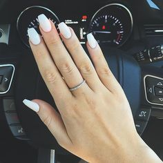 Tried SNS nails for the first time... Interested to see how my real nails respond! I love...