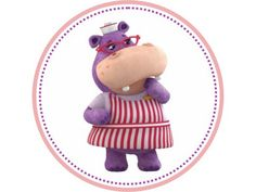 Nurse Hallie (the Hippo) is Doc's assistant on Doc McStuffins at Disney Jr. Doc Mcstuffins Birthday Party, 2nd Birthday Parties, 4th Birthday, Mickey Mouse Clubhouse, Minnie Mouse, Disney Junior, Disney Jr, Decoration, Party Ideas